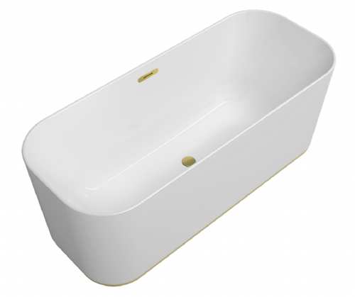 V&B Finion Duo Freestanding Bath - 1700 x 700mm - Seamless Design
